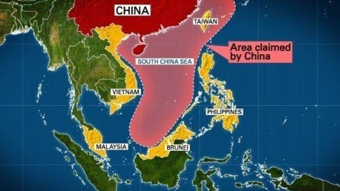 Konflik Laut China Selatan Semakin Besar