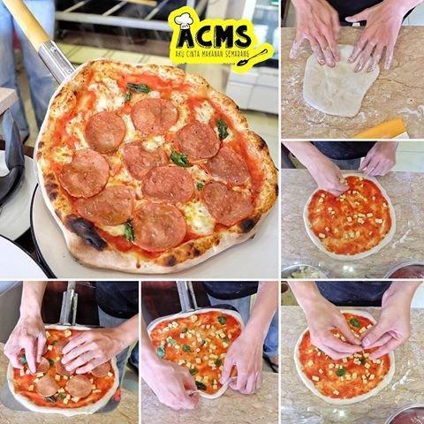 Konsep Open Kitchen Di Double Zero Pizzeria