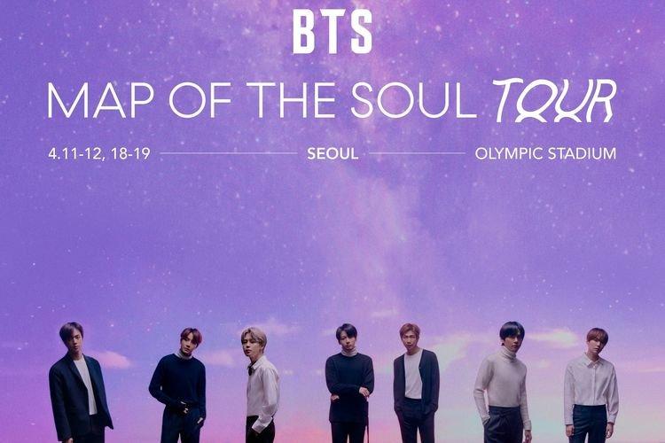 Konser BTS Dibatalkan Karena Peningkatan Virus Corona