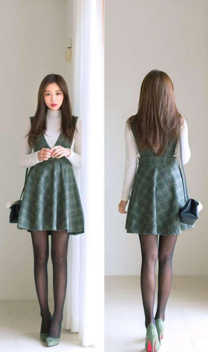 Korean Style Trend Outfit Kotak Kotak Ala Cewek Korea Yang Chic Abis Jateng Live