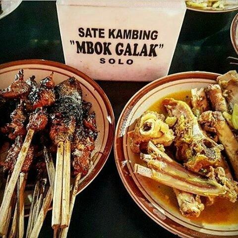 Kuliner Kesukaan Jokowi Sate Kambing Mbok Galak di Solo
