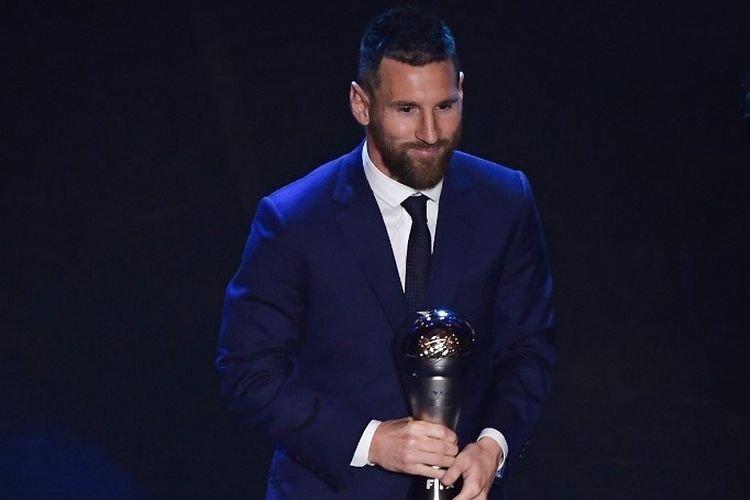 Lionel Messi Pemain Terbaik Dunia
