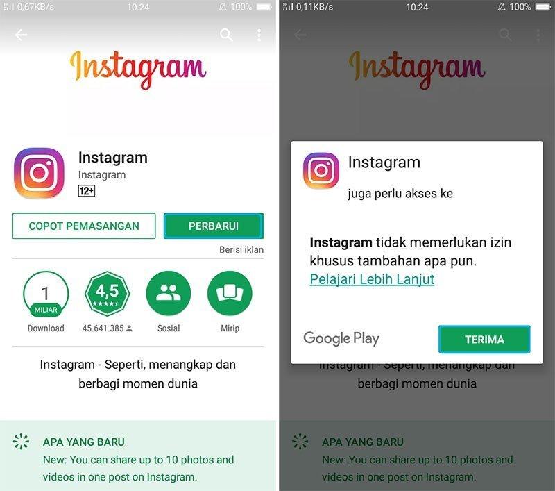 Live Instagram Kini Sudah Bisa Dengan 4 Akun Sekaligus, Berikut Caranya