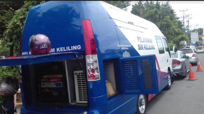 SIM KELILING - Pelayanan SIM Keliling di Jalan Mgr Soegijapranata, Kecamatan Semarang Selatan, Semarang atau depan PMI Bulu   Artikel ini telah tayang