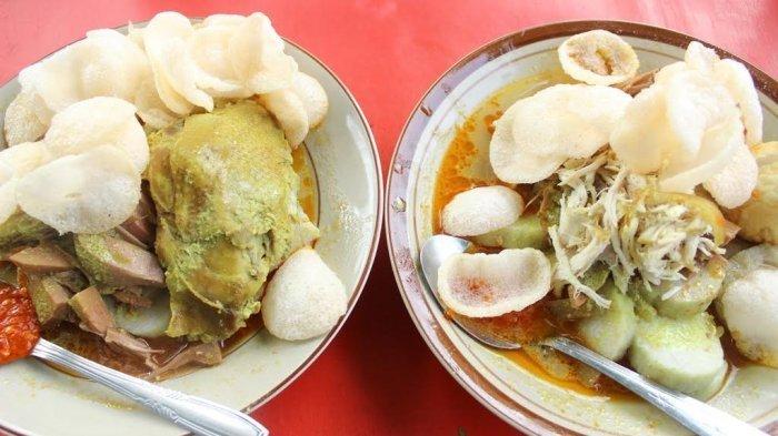 Lontong Sayur Padang Lima di Semarang, Laris Manis diserbu Pembeli