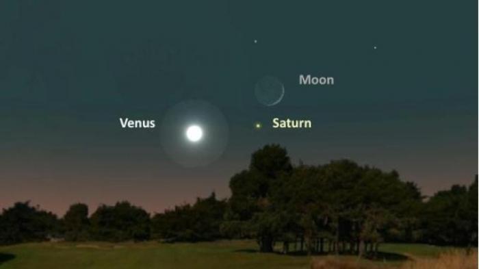 Malam Ini Planet Saturnus Bisa dilihat dari Bumi