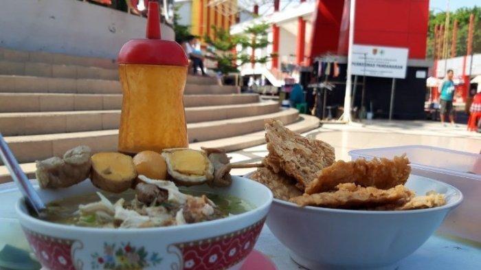 Menu Sarapan di GOR Tri Lomba Juang, pas buat sarapan
