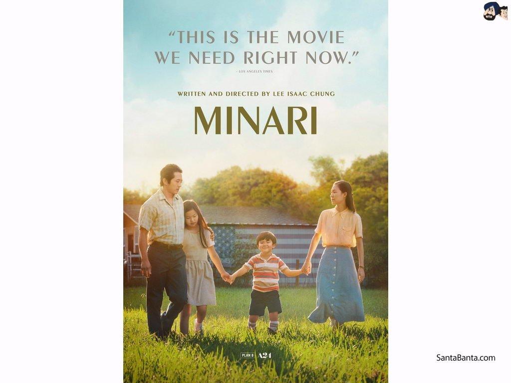 Minari dan timnya membuat Sejarah Dengan masuk Dalam  Enam Nominasi di Oscar!