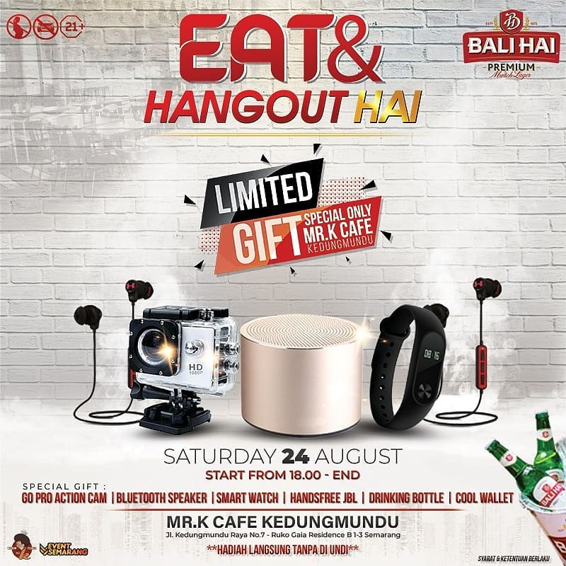 Mr. K present Eat and Hangout with Balihai Beer