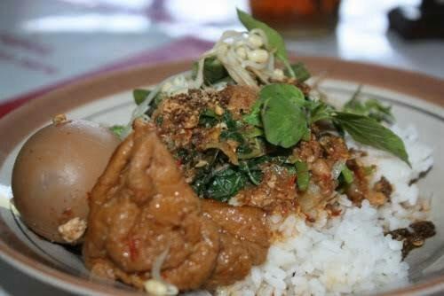 Nasi Tumpang Lethok Di Klaten Yang Nikmat Dan Menggoda