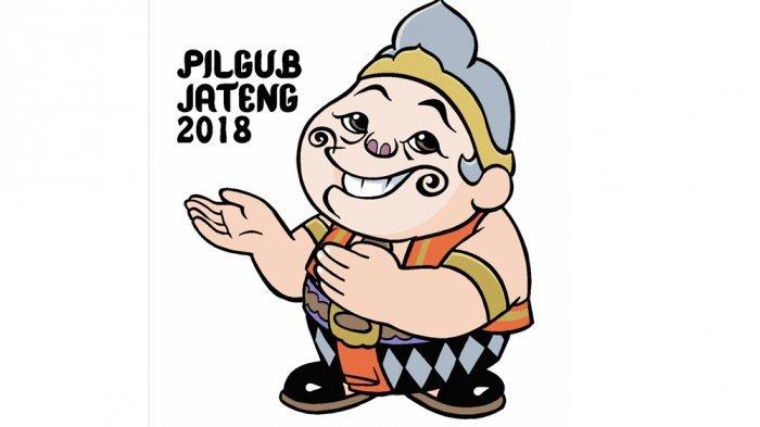Maskot Semar  Pilgub Jareng 2018