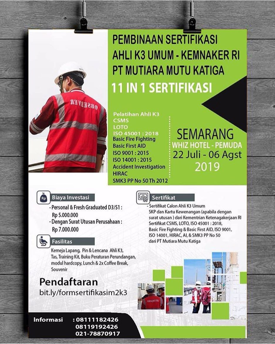 11 IN 1 CERTIFICATION SEMARANG