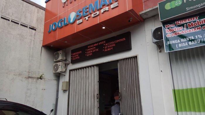 Pencurian di Toko Joglosemar Semarang Terekam CCTV