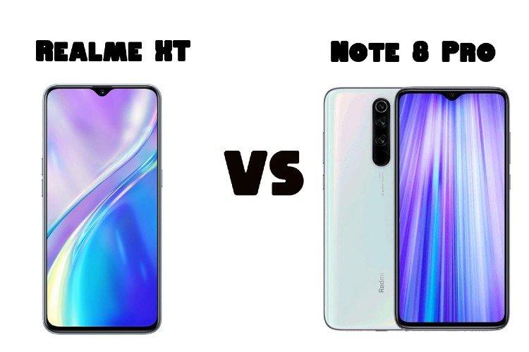 Perbandingan Spesifikasi Realme XT dan Redmi Note 8 Pro