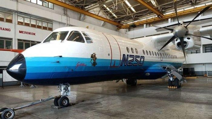 Pesawat N250 Rancangan Habibie Dalam Perjalanan ke Museum Dirgantara Mandala Yogyakarta