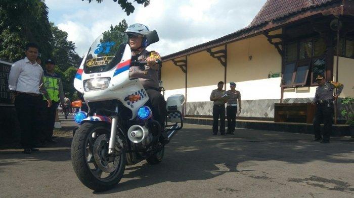 Polres Salatiga Gelar Apel Kesiapan Kendaraan Dinas untuk Pengamanan Pemilu 2019