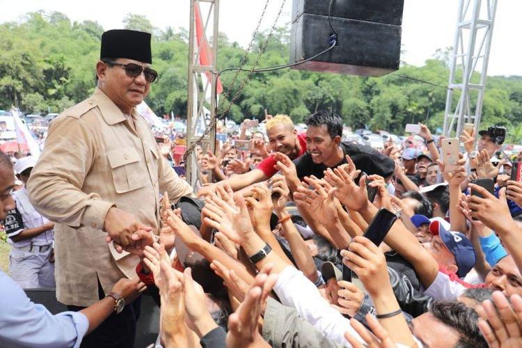 Prabowo berkunjung ke Purbalingga, bersama mantan Gubernur Jateng