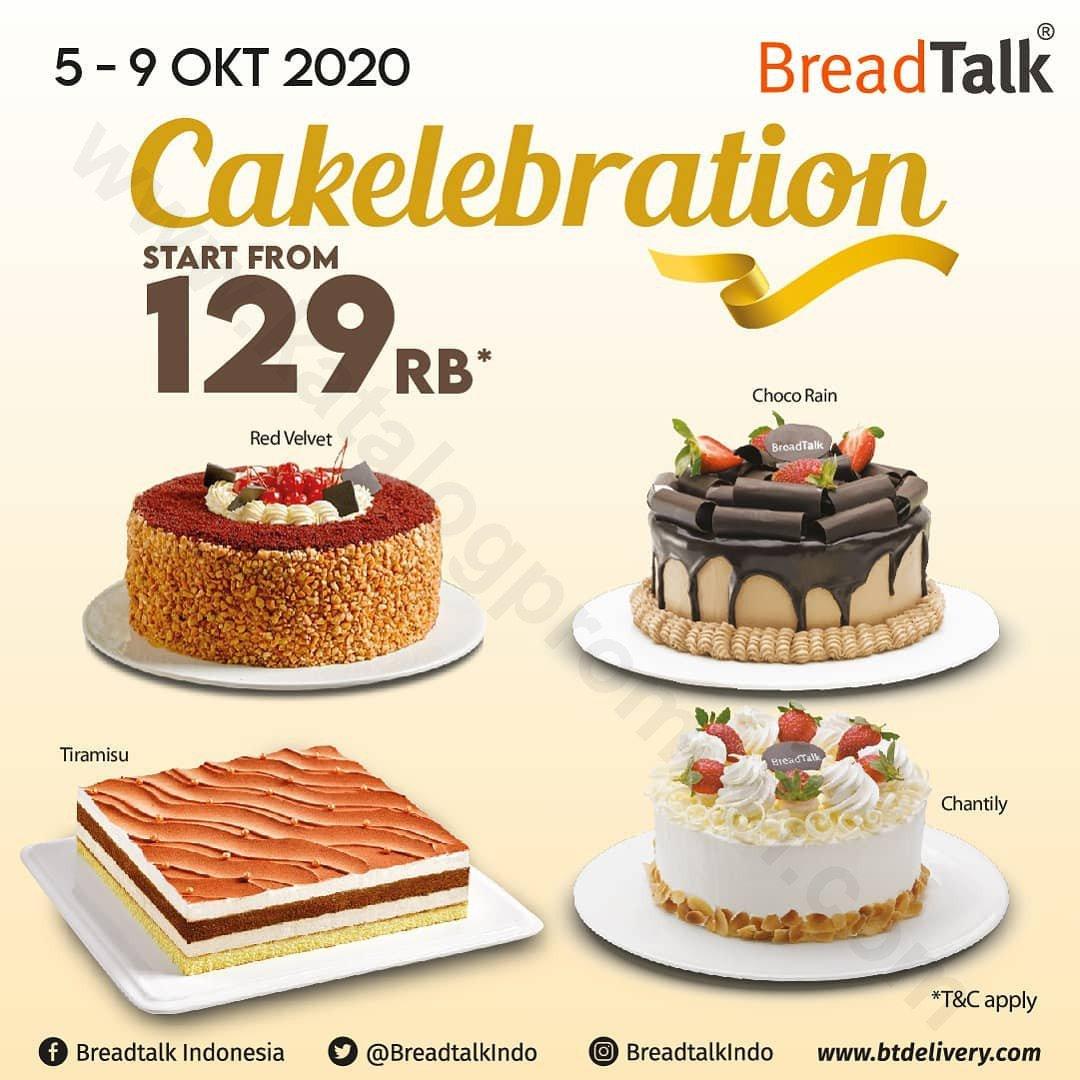 Promo BreadTalk CAKElebration