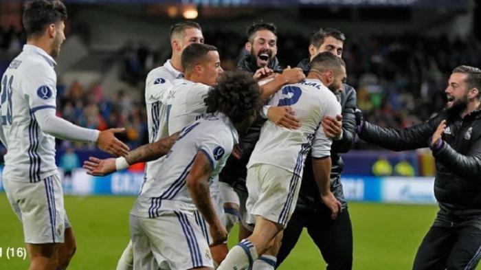Real Madrid Menang Telak di Laga 16 Besar Copa del Rey, berkat dua eksekusi tendangan penalti dari Gareth Bale