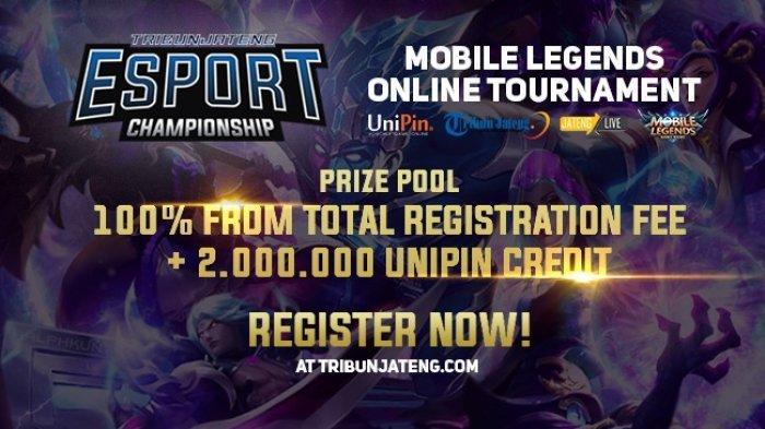 Register Now Mobile Legend Competition 2018, Oleh Tribunjateng.com !