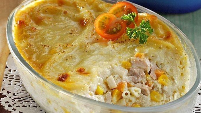 Resep Makaroni Skotel Ayam Jagung, Mudah dan Lezat