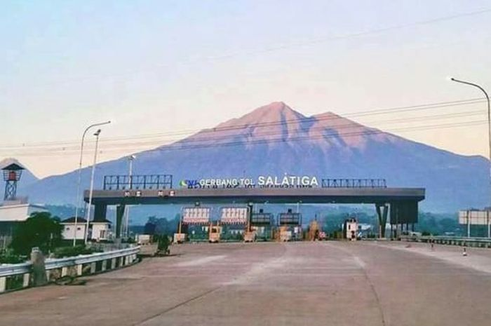 Satu-satunya Di Indonesia Gerbang Tol Terindah Samai Gerbang Tol Yang Ada Di Swiss