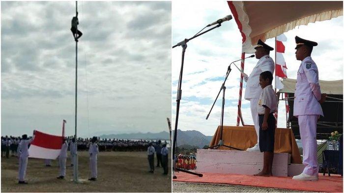 Si Pemanjat Tiang Bendera Yohanis Dapat Beasiswa Dari PLN Hinga S1