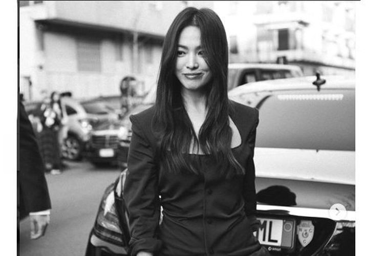 Song Hye Kyo Hadiri Milan Fashion Week