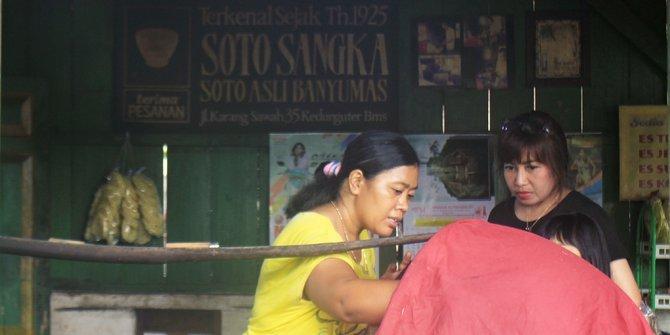 Soto Mbah Sangka, Soto Legendaris Asal Bayumas