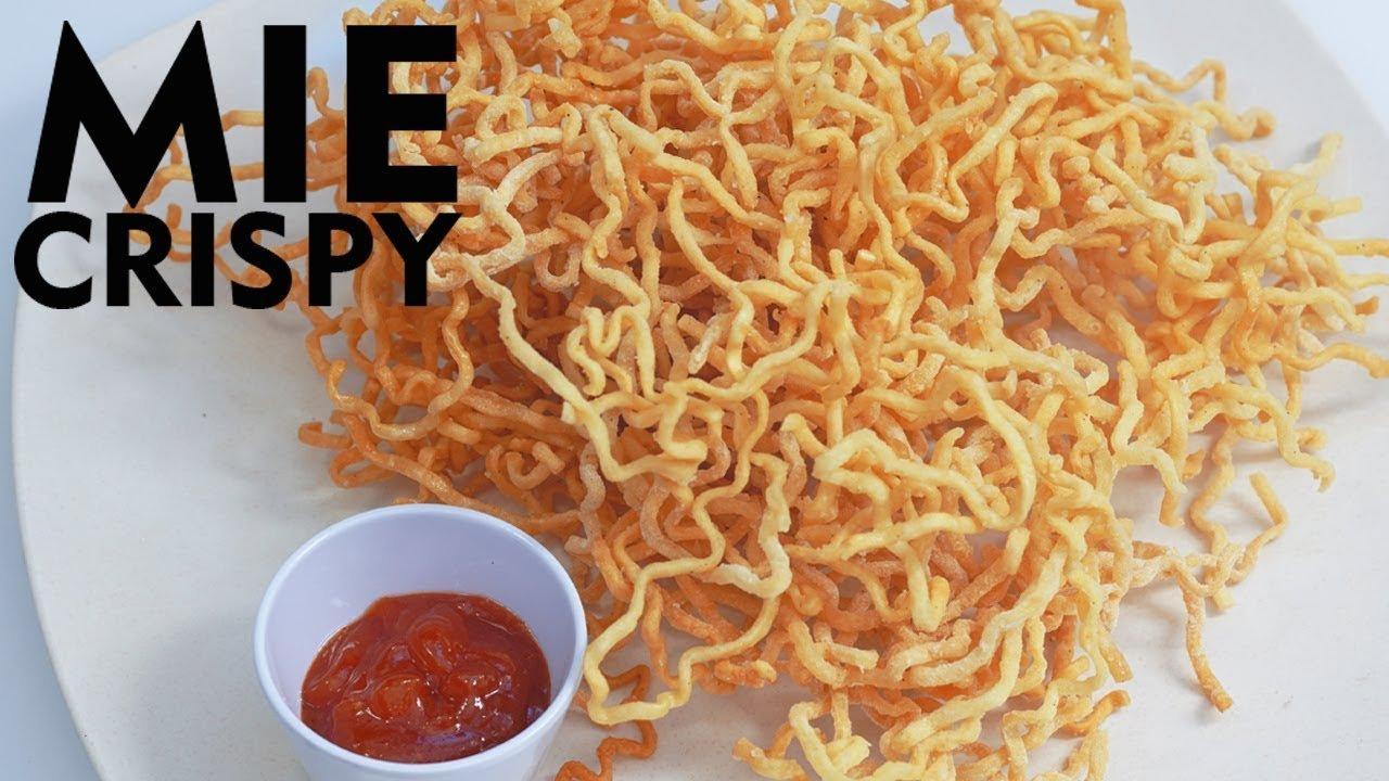 Sudah Pernah Rasakan Sensasi Mie Crispy Ngehits? Ini Resepnya