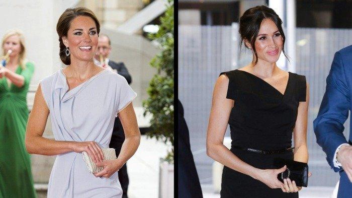 Tampil Perdana di Acara Kerajaan, Kate & Meghan Tampak Elegan, tapi Busana Siapa yang Paling Mahal?
