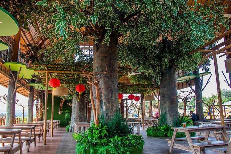 Tempat Wisata Kuliner Bernuansa Hutan Rimba ini Ada di Semarang!