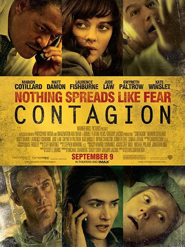Poster film Contagion.