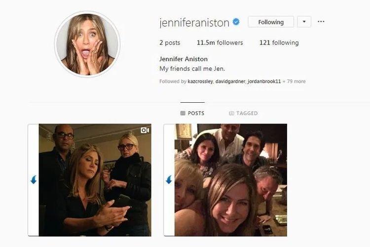 Ternyata, Jennifer Aniston Pecahkan Rekor Meghan-harry Di Instagram