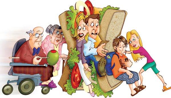 Tips Selalu Bahagia Bagi Generasi Sandwich Yang Dipenuhi Tuntutan