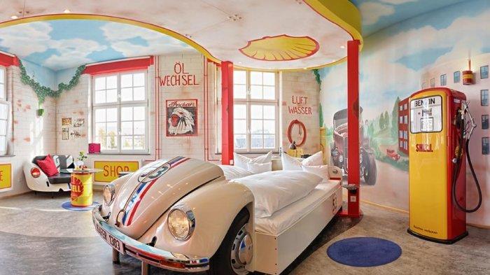 Hotel V8 di Jerman Ini Memiliki Konsep Unik dan Nyaman