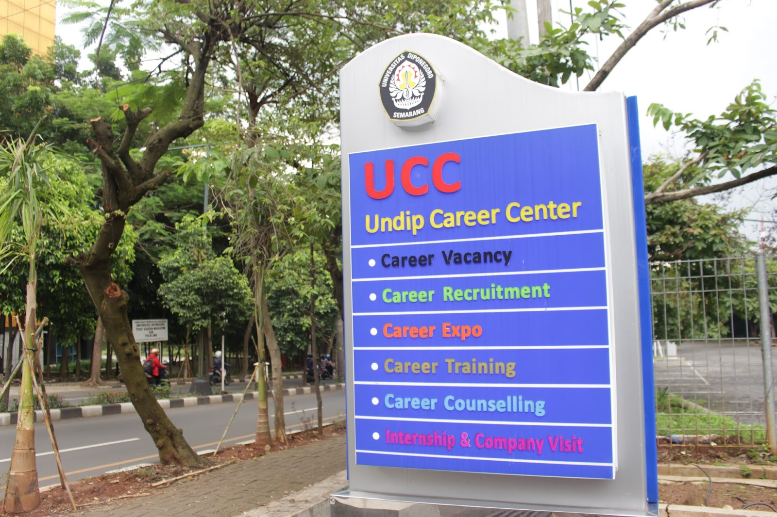 Halaman depan Undip Career Center