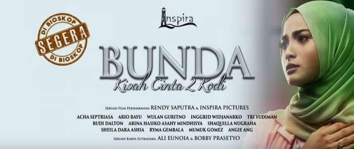 Film drama keluarga berjudul Bunda: Kisah Cinta 2 Kodi, akan tayang serentak di bioskop Tanah Air pada tanggal 8 Februari 2018 mendatang. (Inspira Pic