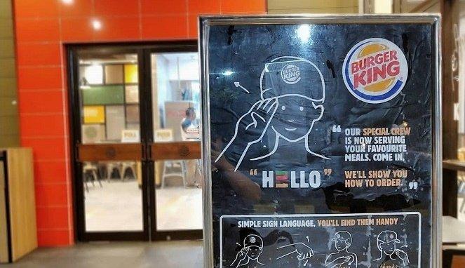 Viral Restoran Cepat Saji Pekerjakan Penyandang Disabilitas