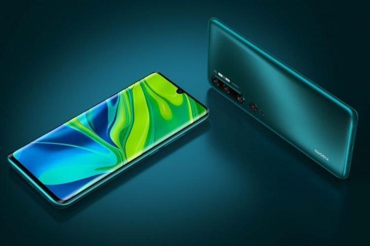 tampilan Xiaomi Mi Note 10