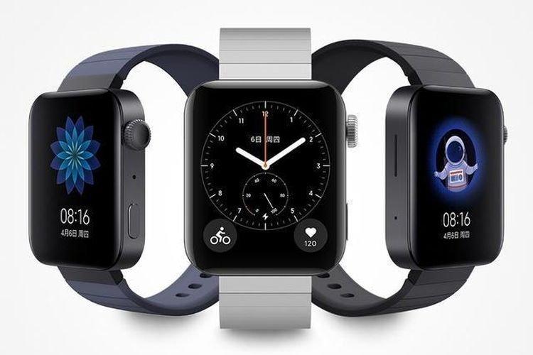 tampilan Xiaomi Mi Watch