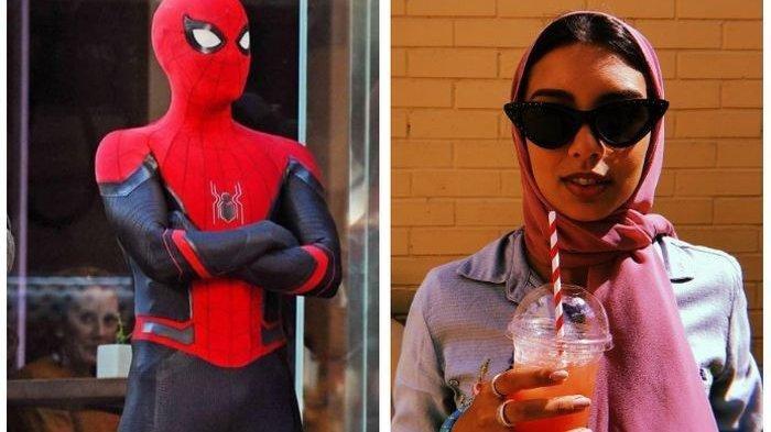 Zoha Rahman Ungkap Rasanya Pakai Hijab saat Syuting Spider-Man